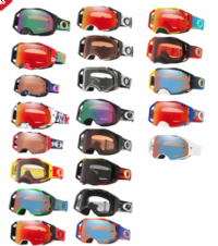 NEW Adult Oakley Airbrake Goggles All Styles Motocross Enduro ATV Quad